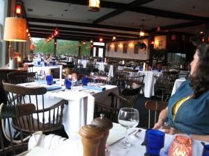 view of empty restaurant