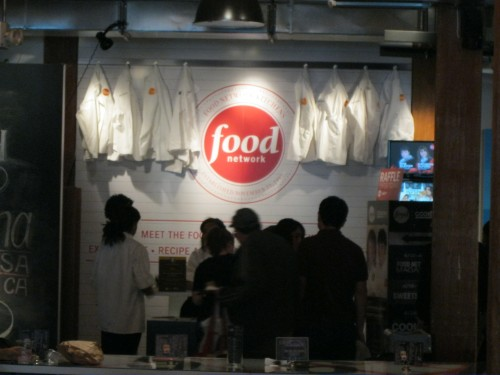 Food Network booth