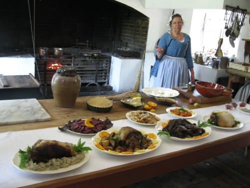 Governor's Palace kitchen Williamsburg