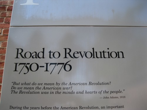 Road to Revolution 1730-1776