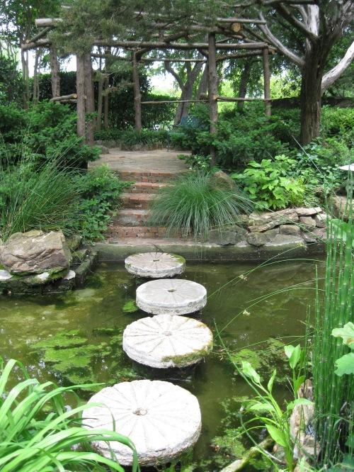 pond path